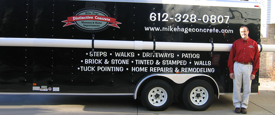 Mike Hage Distinctive Concrete – Minneapolis Concrete Contractor
