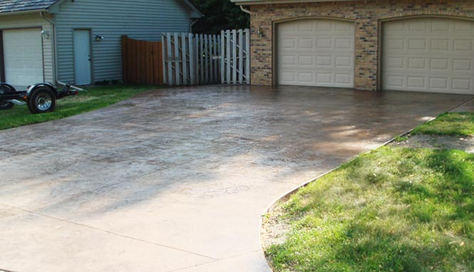 Cement Drive Ways