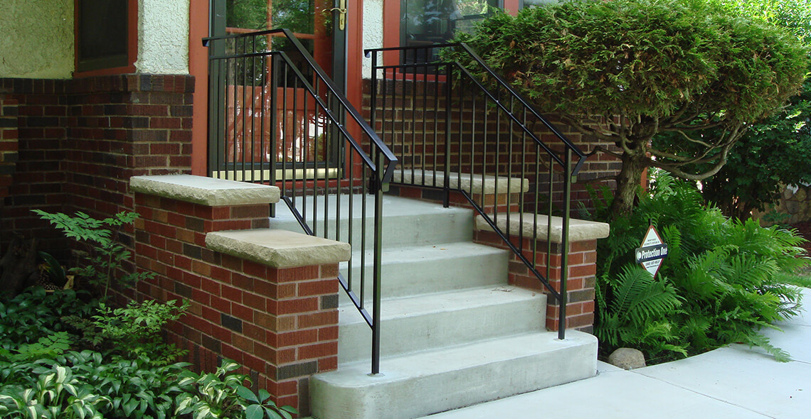 Concrete Entrance Steps