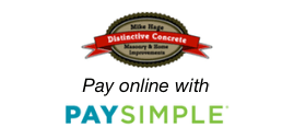 Minneapolis Concrete Contractor Online Payments via PaySimple